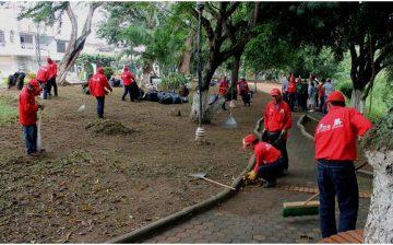Agentes de Cultura Ambiental y Red de recuperadores de parques llegan hoy al barrio la Joya