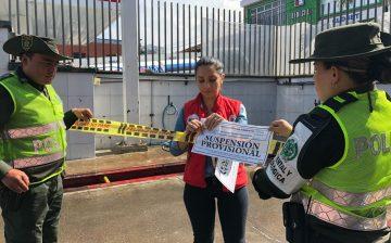 Suspensión provisional de actividades a dos lavaderos de Bucaramanga y Piedecuesta