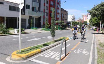 Balance del Día sin carro y sin moto. Según las tomas de información del AMB, Bumangueses utilizaron más la bicicleta y se incrementó la movilización a través del transporte público