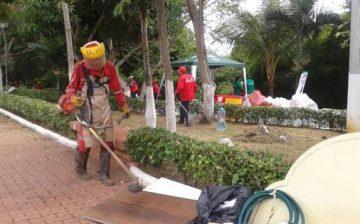 Total éxito deja jornada de  Materiales al Parque y Reciclatón en el barrio Fontana