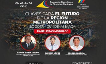 Director del AMB, arquitecto Samuel Jaimes Botía, participa como panelista en el gran foro virtual 'Claves para el futuro de la región metropolitana', este viernes 18 de septiembre