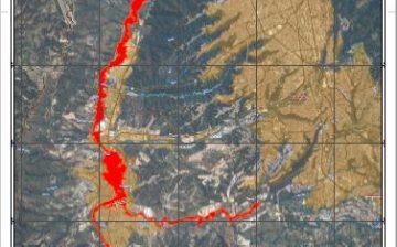 Visita a sectores con riesgo por inundación en el Río de Oro en la jurisdicción de Girón