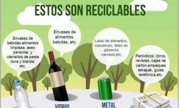 A partir de hoy lunes los cuatro municipios del área metropolitana inician histórico y ecológico proceso de reciclaje