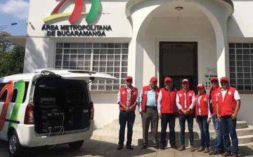 Autorización al Área Metropolitana de Bucaramanga para realizar medición de emisiones generadas por fuentes móviles