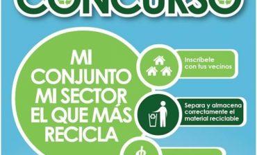Hoy se realiza ceremonia de premiación de los conjuntos y sectores que más reciclan en el área metropolitana
