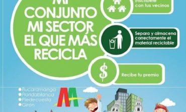 """Cooperativas de recicladores emprenden socialización de concurso """"Mi conjunto, mi sector el que más recicla"""""""