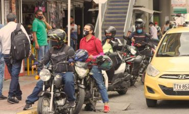 Más de 11.000 motos del área metropolitana no están registradas ante la DIAN