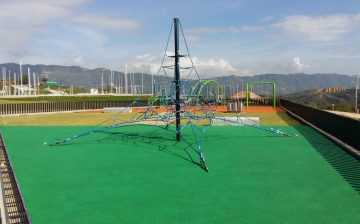Próximamente la comunidad disfrutará el Parque Contemplativo El Carrasco. El AMB y la Alcaldía de Bucaramanga ejecutan los recursos públicos con transparencia, para llevar más bienestar social