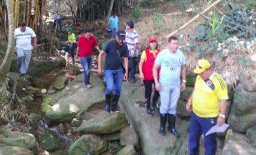 Área Metropolitana inicia socialización de parque lineal  sobre la quebrada La Calavera en Floridablanca