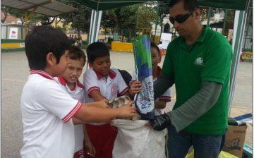 """Más de 200 kilos en elementos reciclables y diez toneladas de escombros fueron recolectados en """"Materiales al Parque"""""""
