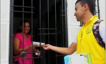 Casa a casa, barrio a barrio, AMB y empresas recolectoras inician distribución de volantes sobre reciclaje