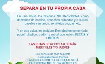 AMB intensifica socialización de obligatoriedad de reciclaje con dirigentes comunales, ediles y sistemas de seguridad