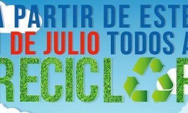 Distribuirán 400 mil plegables para enseñarnos a reciclar