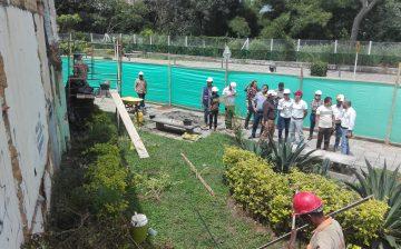 23% de avance registran las obras de mejoramiento paisajístico en la conexión alterna, tramo San Miguel